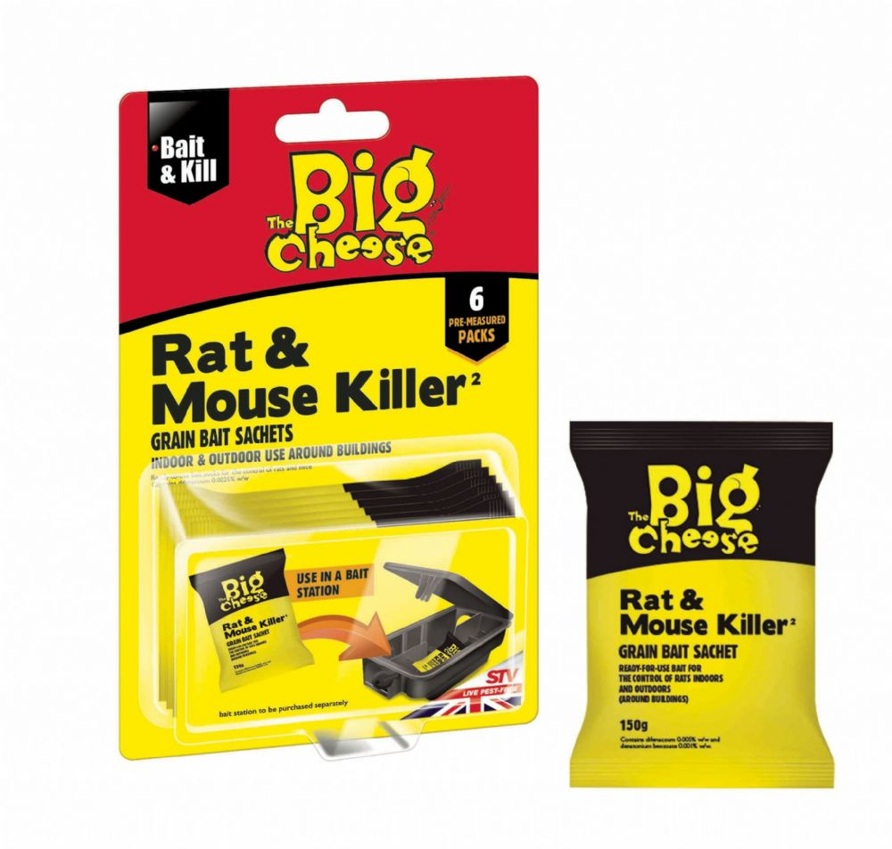 STV Rat & Mouse Killer Bait Sachet